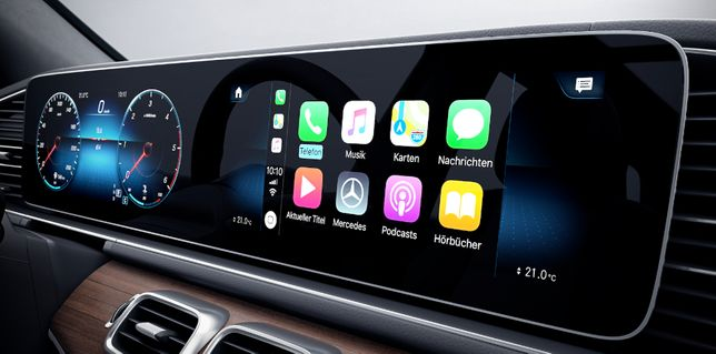 Activare Android Auto / Apple CarPlay Mercedes