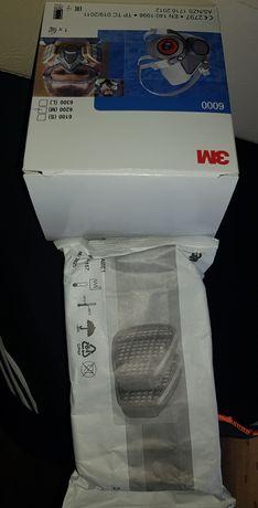 Masca 3M cu filtre incluse , praf fum chimicale gaze lacuri vopsele