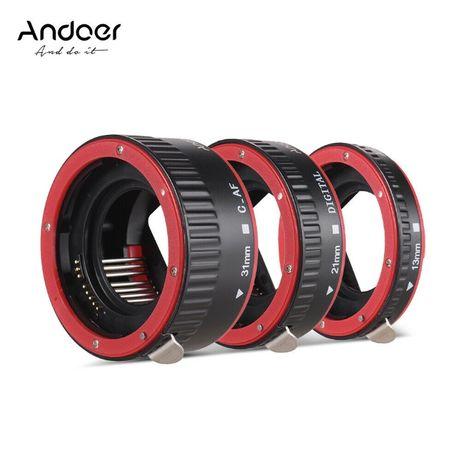 Макро екстендъри Andoer за Canon с автофокус и контрол на блендата
