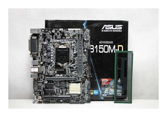 Мат.Плата LGA 1151 ASUS B150M-D 2x DDR4 BOX Алматы