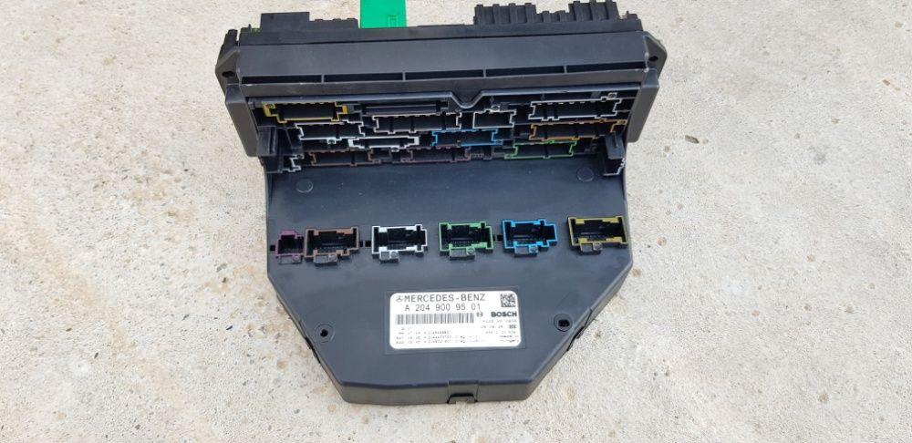 Calculator SAM fata spate Mercedes C200 CDI C220 W204 panou sigurante Craiova - imagine 1