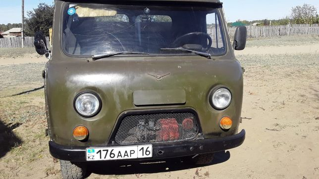 Бортовой УАЗ 33021 в идеале