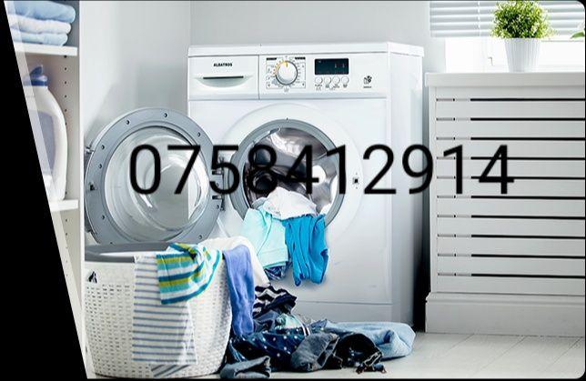 Reparatii masini de spalat haine pe loc