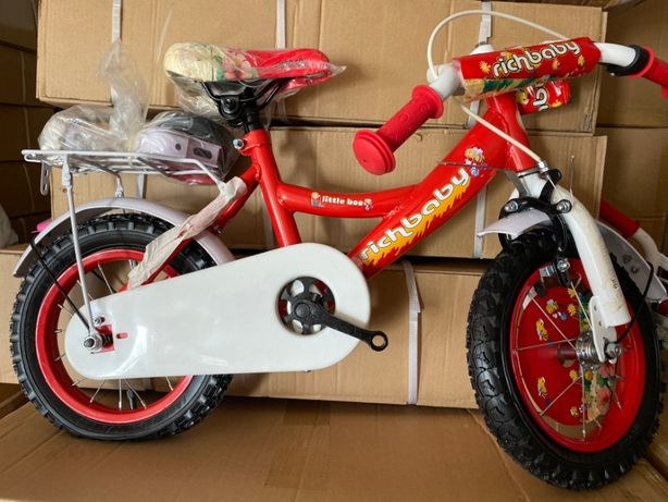"Bicicleta fetite 12"",2-4 ani , pedale,roti ajutatoare,sonerie ,cosulet"