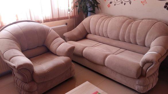 Диван и фотьойл
