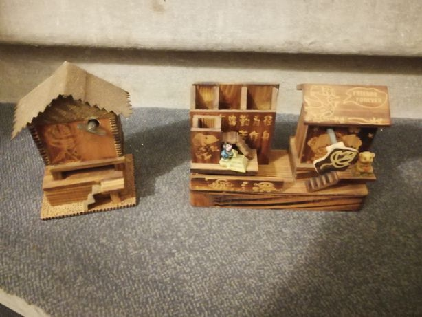 Cutii muzicale din lemn