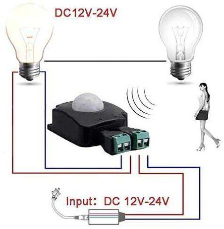 Senzor prezenta pir 12-24V