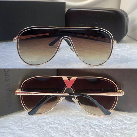 Louis Vuitton висок клас унисекс мъжки слънчеви очила дамски
