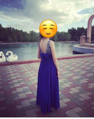 Продается вечернее платье размер 40 (Xs)