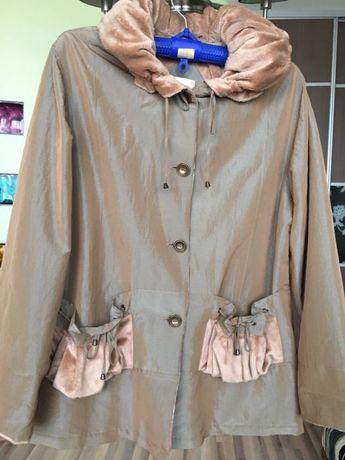 Продам женскую куртку, размер 56/58