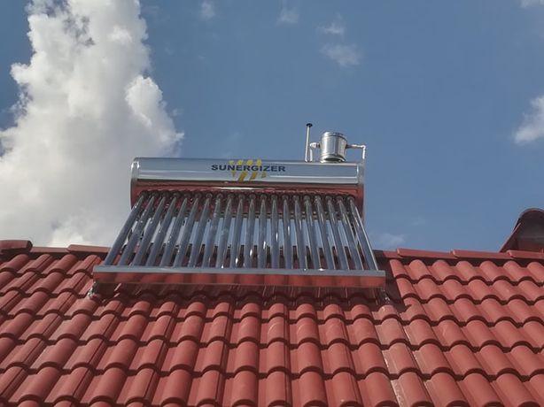 Montaj panou solar (apa calda)