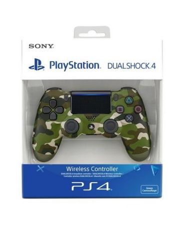 DUALSHOCK®4 wireless controller v2 - Green Camo / Джойстик Sony / PS4