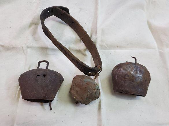 3 стари хлопатара чанове звънци