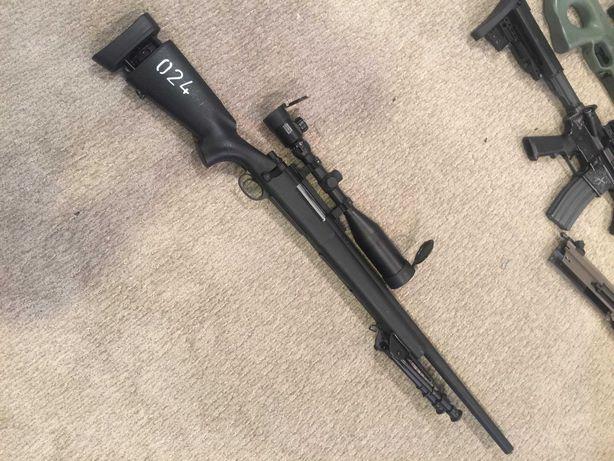 Pusca/Pistol #airsof de Putere Mare Sniper M24#4,6j#Full Metal# BILE