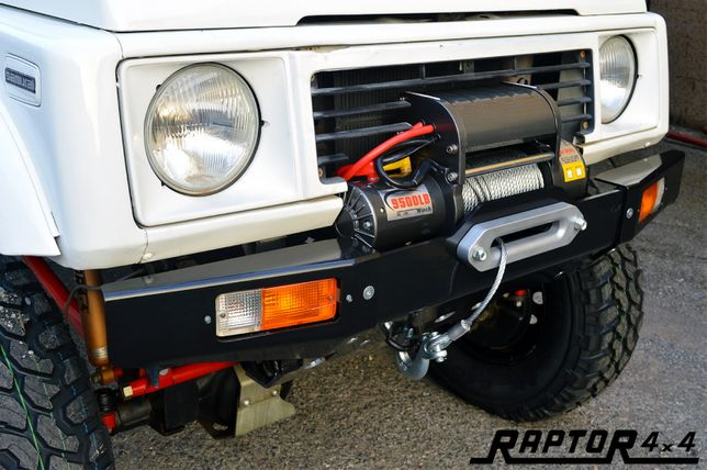 Bara fata aluminiu Raptor 4x4 pentru Suzuki Samurai