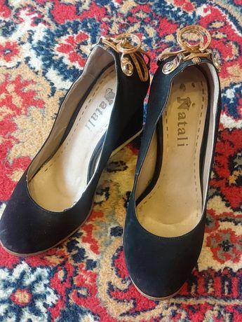 обувь женская черная