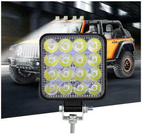 48W ЛЕД 12-24V Диоден Халоген Фар Прожектор Задна Светлина Диодна Ламп