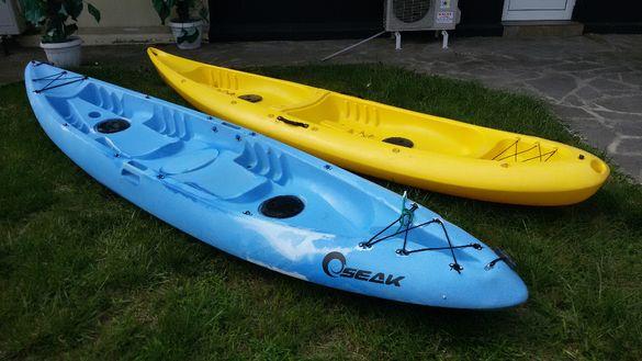 Двуместен Каяк / Sit on Top Kayak