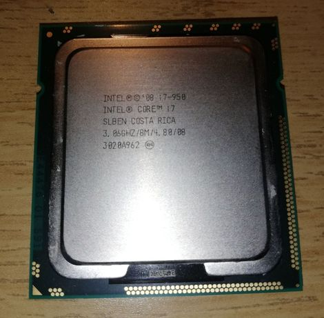 Procesor intel core i7 950