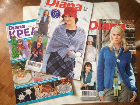 Продам журналы для вязания крючком и спицами.