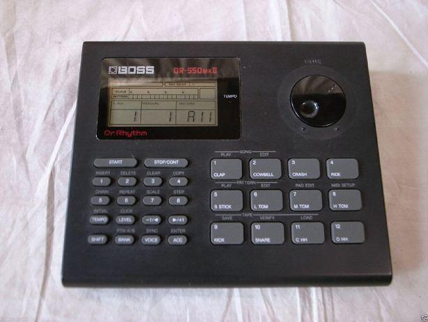 Roland boss dr550 schimb cu orga acordion