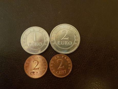 Monede probe euro Spania