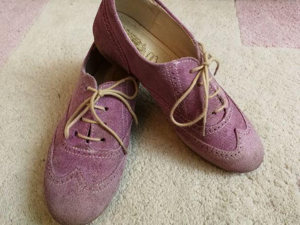 Pantofi piele pt. fete marimea 33