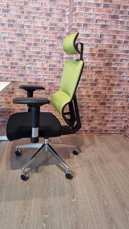 Scaun de birou -ErgoDynamic Lombar Automatic Green-Black pe stoc