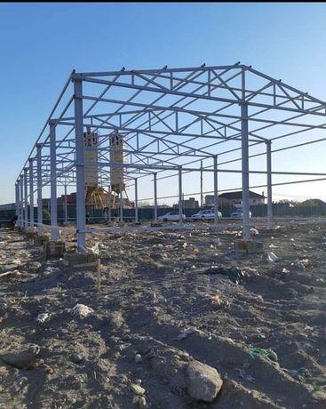 Vând hale ferme structuri metalice