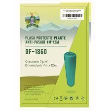 Plasa protectie plante anti-pasari 4x12m 7g/m2 Micul Fermier