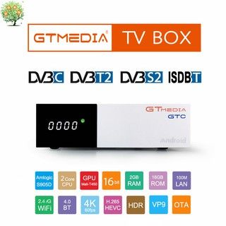 Receiver android tv GTMEDIA GTC TV Box