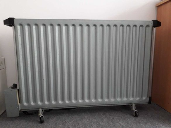 Панелен радиатор с електрически нагревател