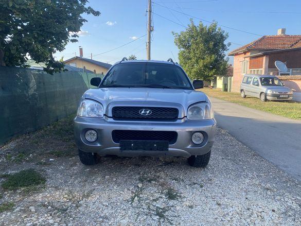 Hyundai Santa Fe/Хюндай Санта Фе на части