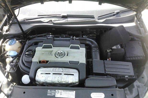 Motor fără anexe cod CAVD impecabil 58.000 km, se poate verifica