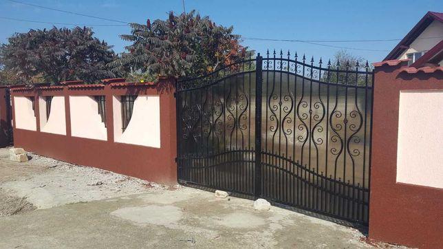 Garduri si porti din fier forjat, sipca, tabla, BCA, plasa, placi