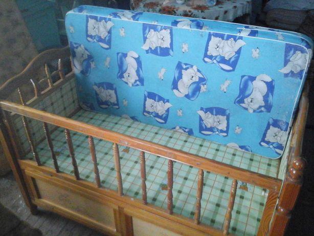 Кроватка детская, с сушкой.