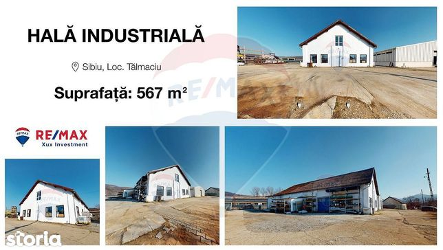 Hala industriala de inchiriat in Talmaciu, jud. Sibiu