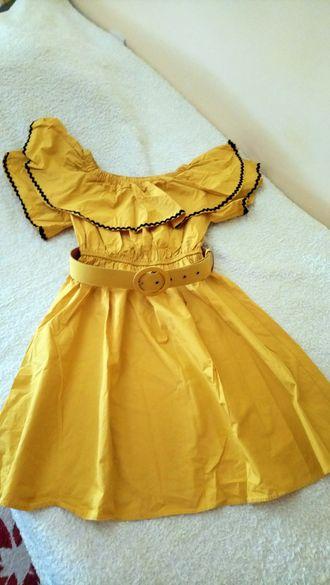 Къса дамска рокля