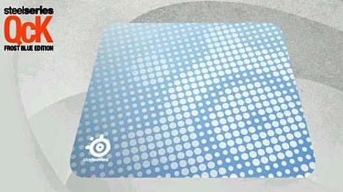 Подложка за мишка SteelSeries QcK+ Frost Blue