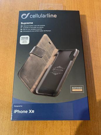 Husa piele veritabila Cellularline Iphone XR