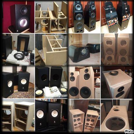 Incinte acustice boxe subwoofere diy sisteme audio cutii custom