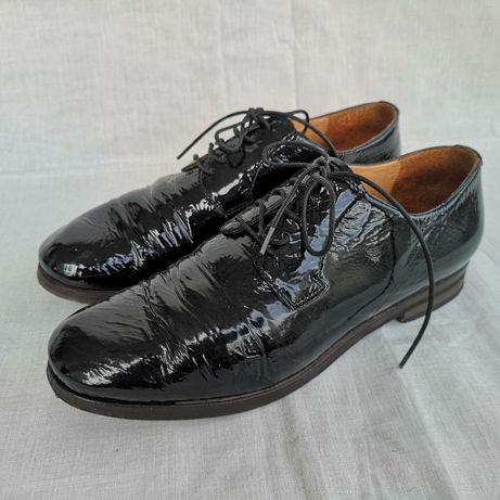Musette, обувки естествен лак, 36