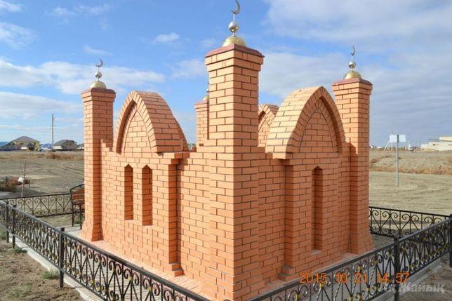Все для мусульманских зират. Кирпич, цемент, навершия и др.