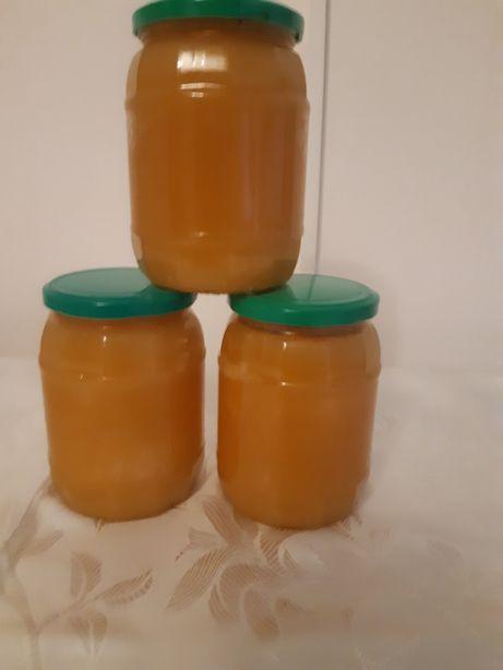 Miere de albine, floarea soarelui + armurariu, 100% naturală