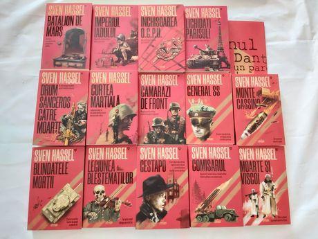 Vand set complet Sven Hassel- 14 volume noi, necitite
