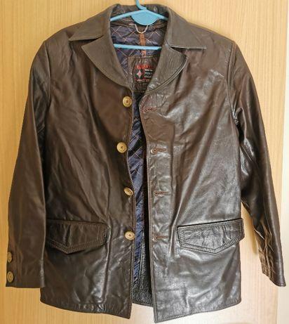 Кожено сако на дизайнера Димитър Димитров
