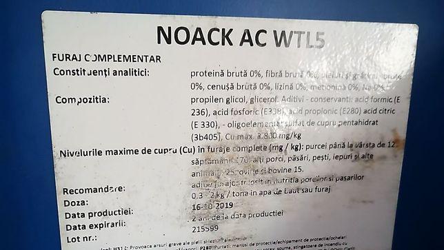 ACIDIFIANT Lichid 25 kg
