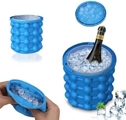 Ледарка за бутилки 2в1 с формички за лед - бързо и лесно