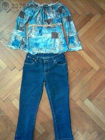 Страхотен лот блузка Honeycomb kidz и дънки D-xel