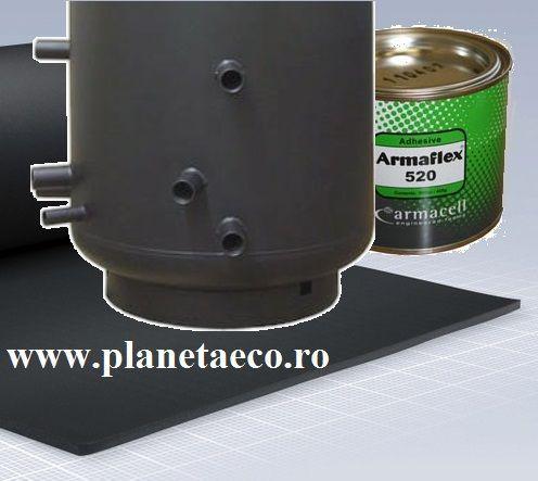 Izolatie pentru puffer si boiler PlanetaECO